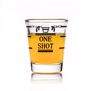 Measuring Shot Glass With Scale Shot Glass Shots Home Bar Designs