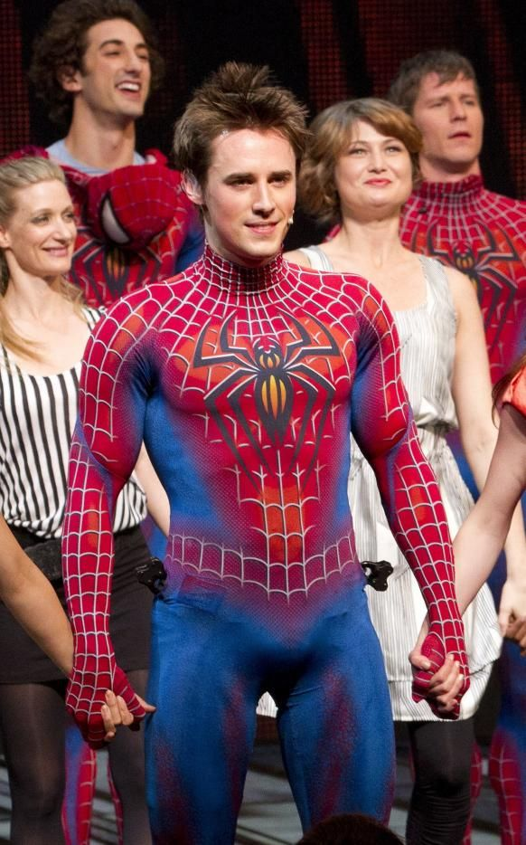 Reeve Carney in Spider...