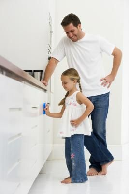 How to Remove Sticky Residue From Kitchen Cupboards ...