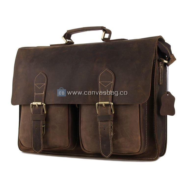 Design Mens Briefcase Satchel Bags For Men Business Messenger Bag 14 Laptop Bag 8001