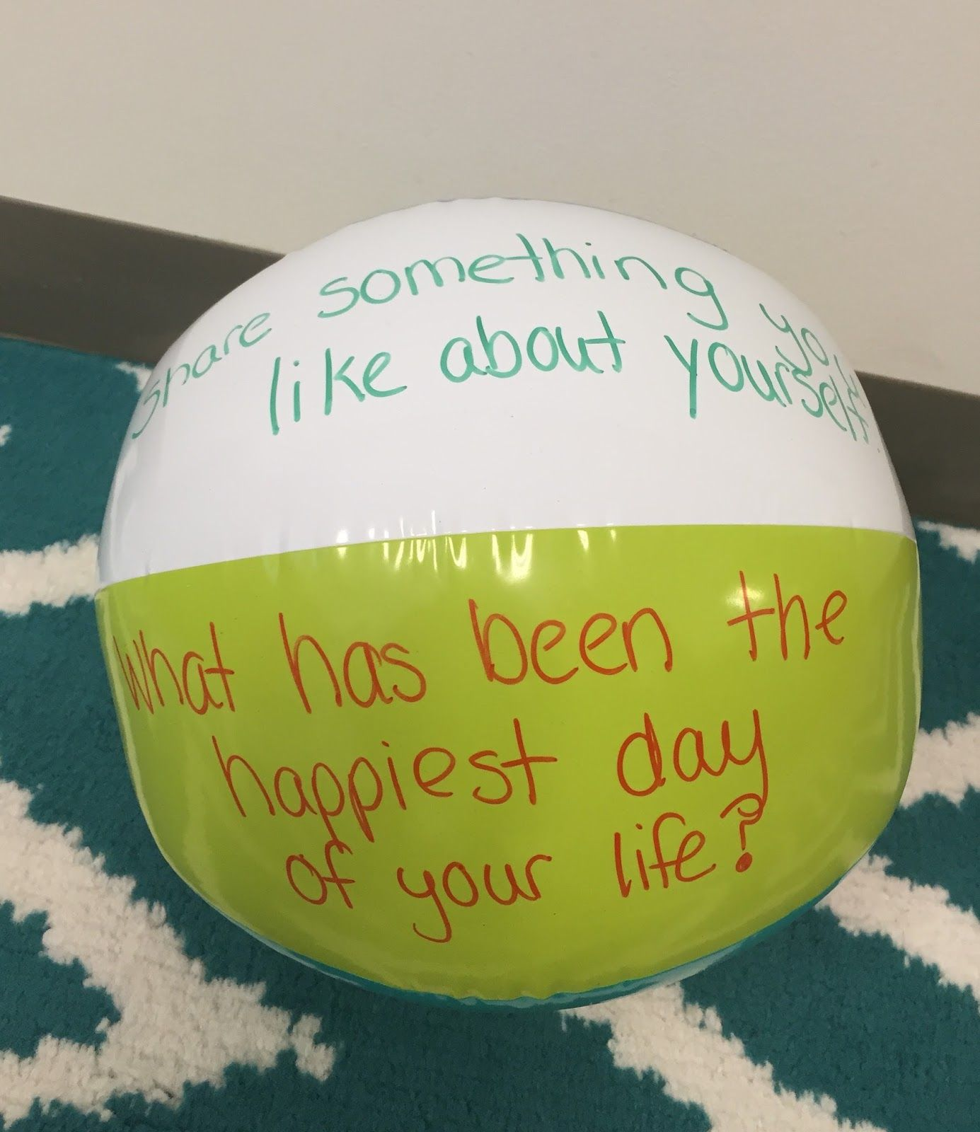 Tossing This Beach Ball During Morning Meeting To Give Those Students That Don T Want To Answer