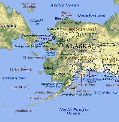 Oct US Takes Formal Possession Of Alaska From Russia - Russia us map