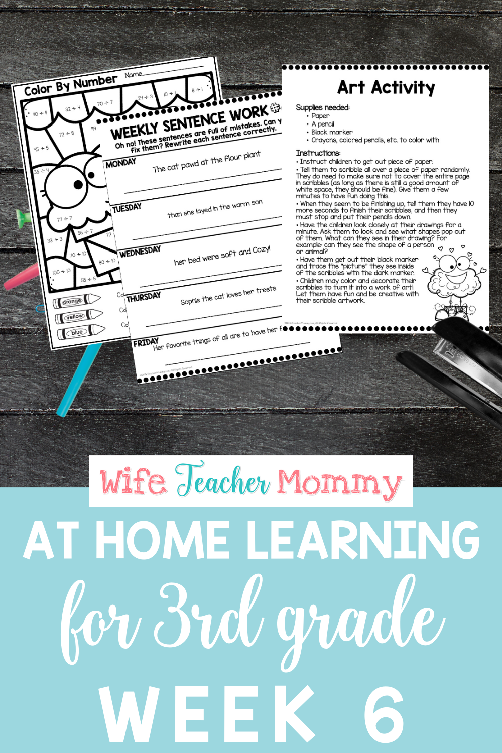 3rd Grade Distance Learning Packet At Home Learning Activities Week 6 Writing Lessons Reading Motivation Read To Self [ 1500 x 1000 Pixel ]