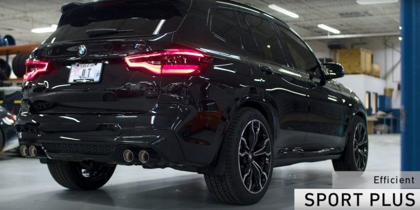 Video Eisenmann exhaust for BMW X3 M sounds rather good