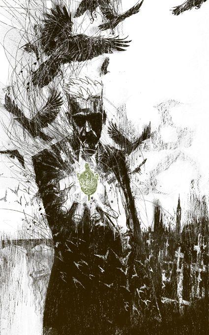John Constantine por Felix Ruiz.