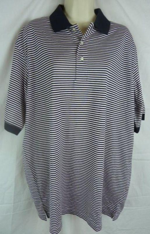 a4b3fb1ff6f Land's End Men's Polo Shirt | Promote Your ebay items | Black, white ...