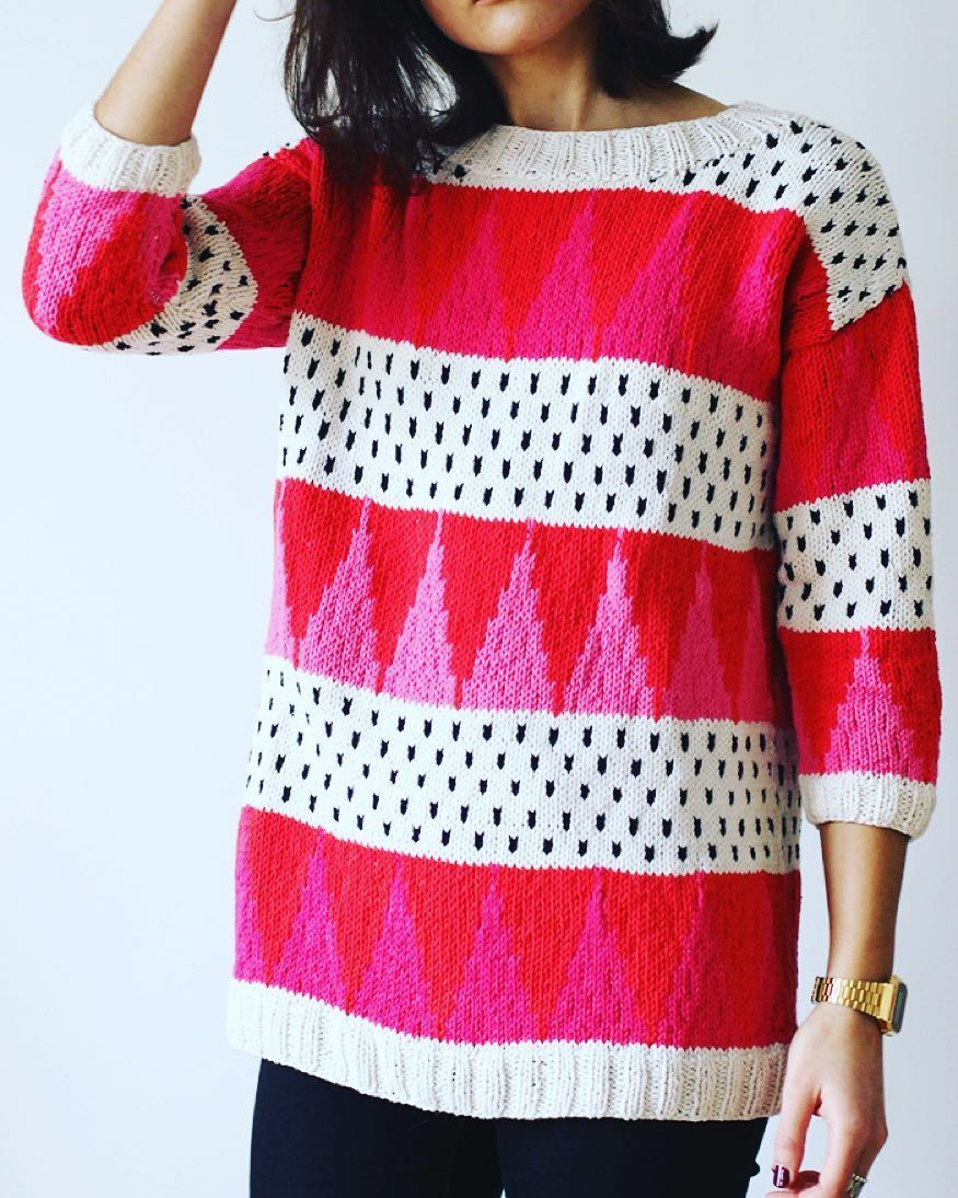In need of geometric knits ludivineemm made this amazing sweater in need of geometric knits ludivineemm made this amazing sweater and shares the pattern bankloansurffo Choice Image