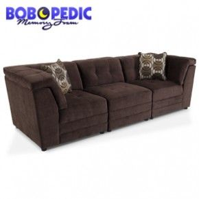 My Bobs Reprise sofa sectional can be custom designed for size and design