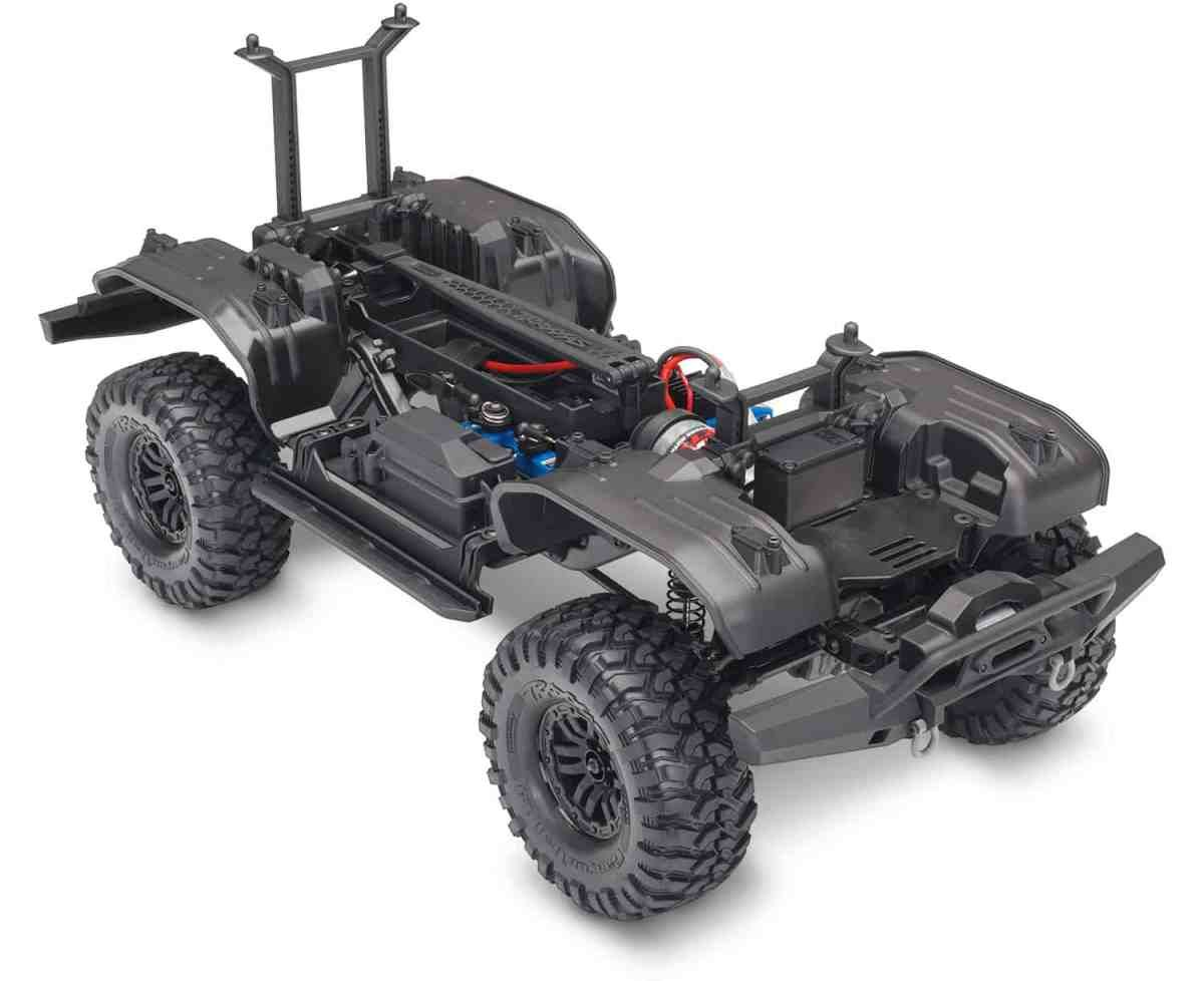 Do You Want To Build A Trail Truck Meet The Traxxas Trx 4 Assembly Very Simple Radio Control R C Kit