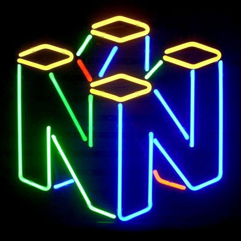 Nintendo Neon Lights Neon Light Signs Neon Signs Neon Lighting