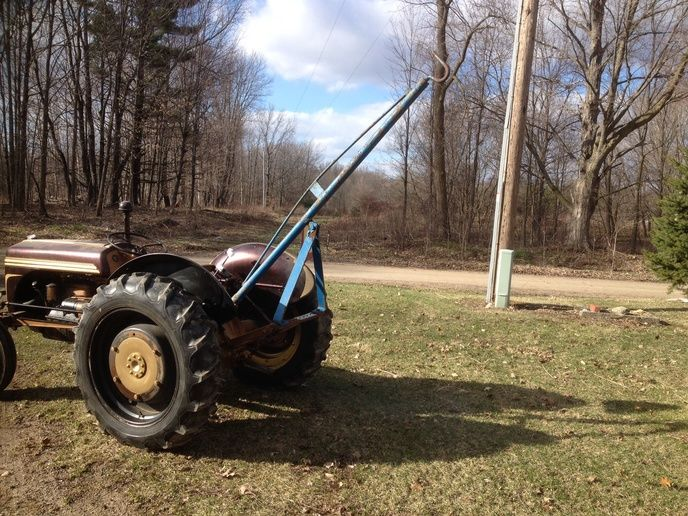Tractor Three Point Boom : Which boom pole ford n forum yesterday s