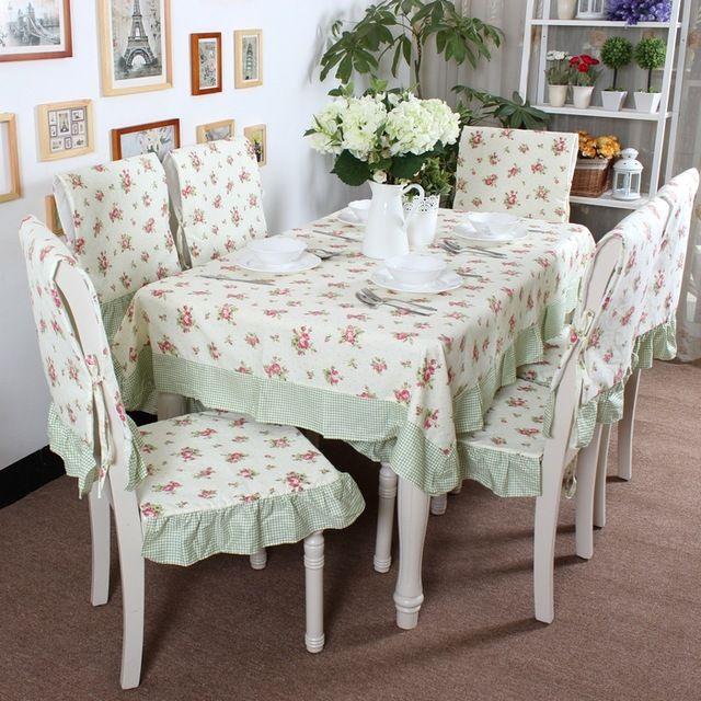 Nova chegada 100% algodão mesa de jantar pano toalha de mesa rústica mesa de…