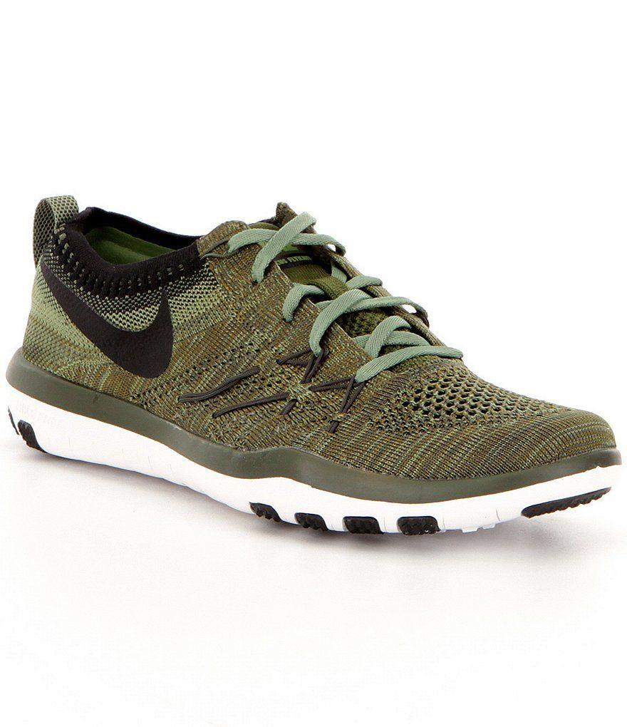 5cbe6e6944c29 Cargo Khaki Palm Green White Black Nike Free Tr Focus Flyknit Women´s Training  Shoes