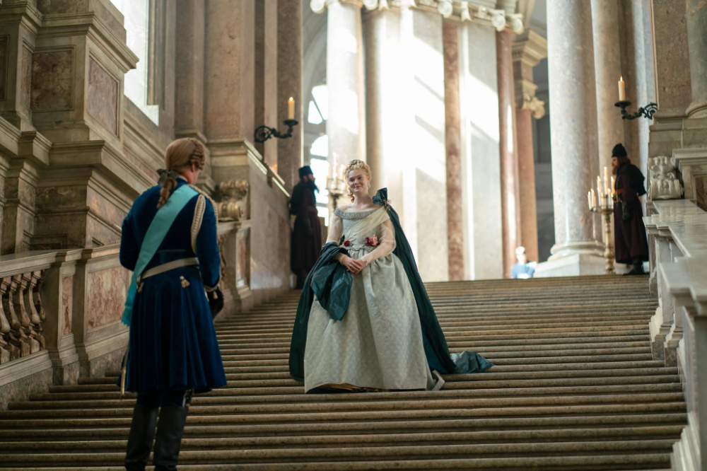 This Is Not History S Catherine The Great In 2020 Catherine The Great Elle Fanning Greatful