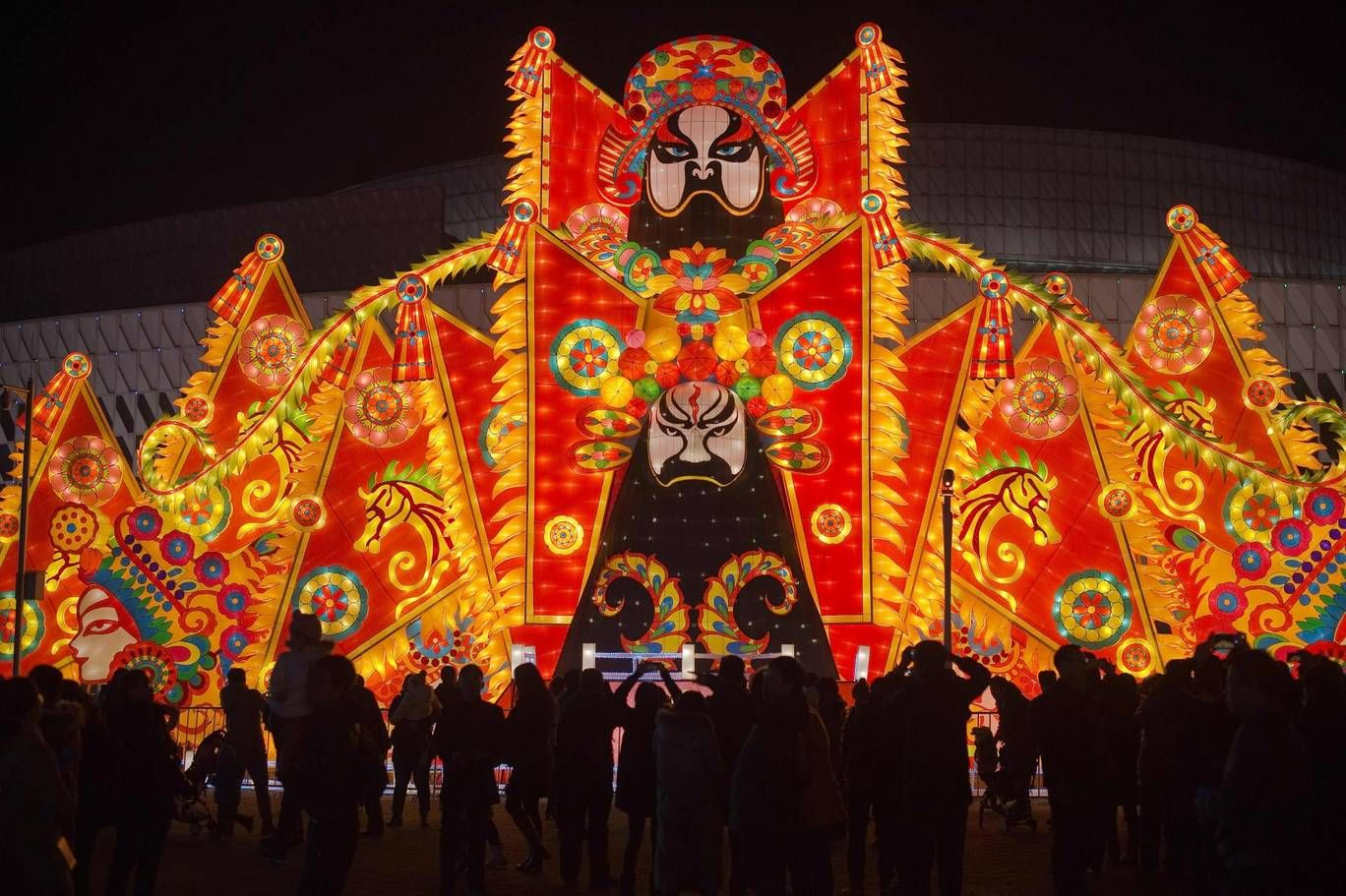 Lantern festival marks last day of Chinese New Year with