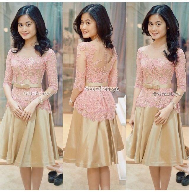 Evening dress by Vera #kebaya #modern #dress