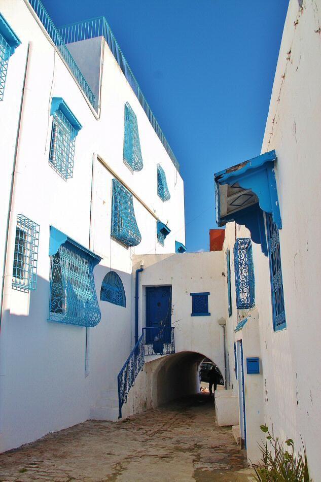 Sidi Bou Said En Túnez Tunez Túnez Viajes