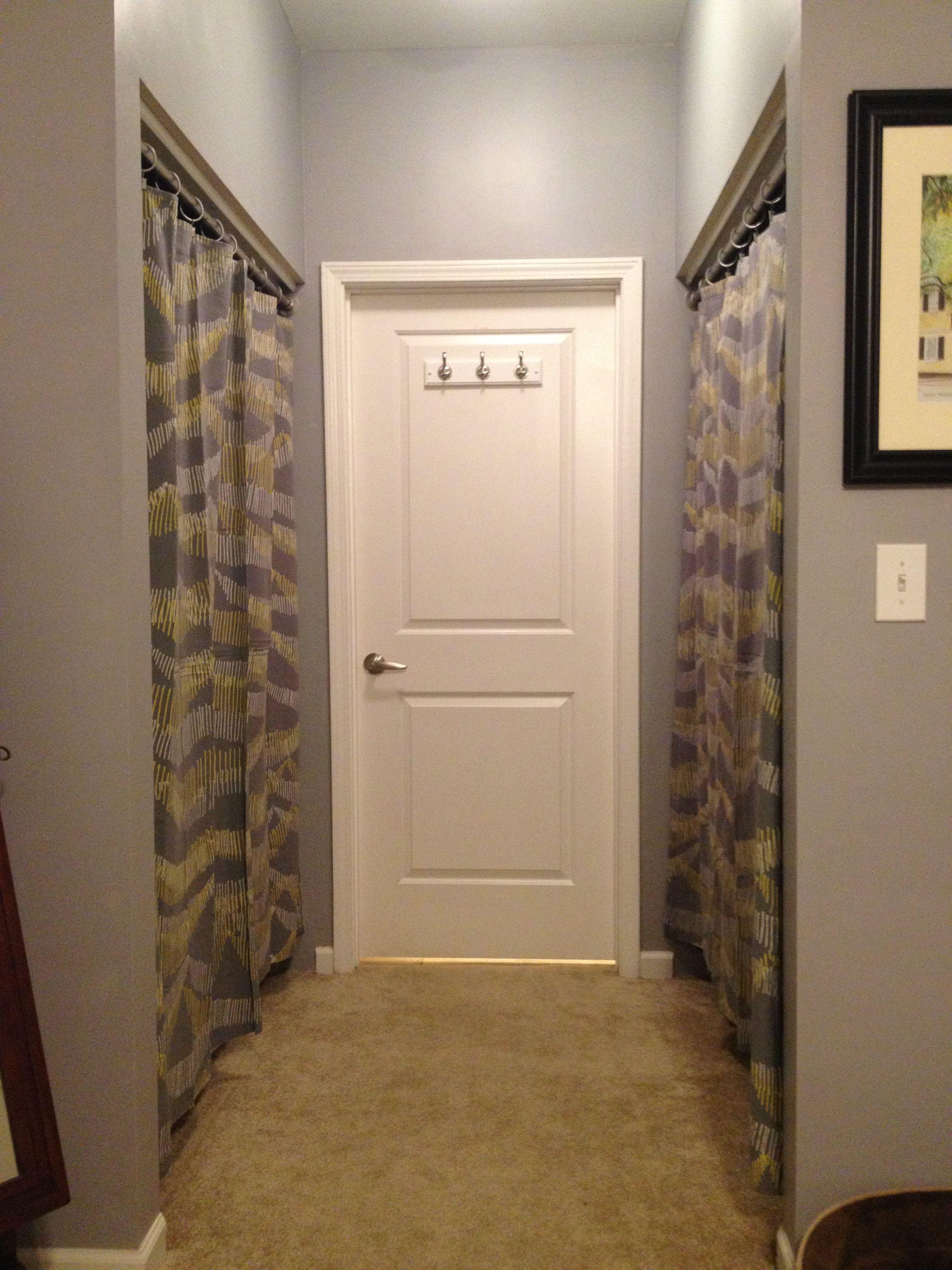 Wonderful Closet Door Ideas Curtain. Curtain Call! Closet Door Ideas