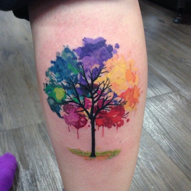Jaw Drop Ink Tattoos: 25 Jaw-Dropping Watercolor Tattoo Ideas You're Gonna Love