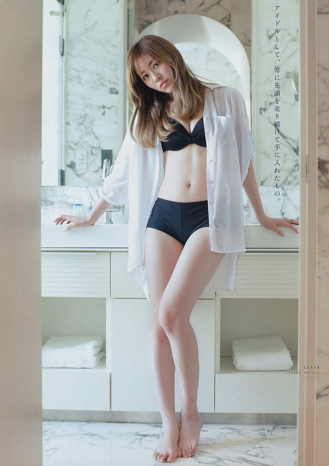 立ち姿が美しい松井珠理奈