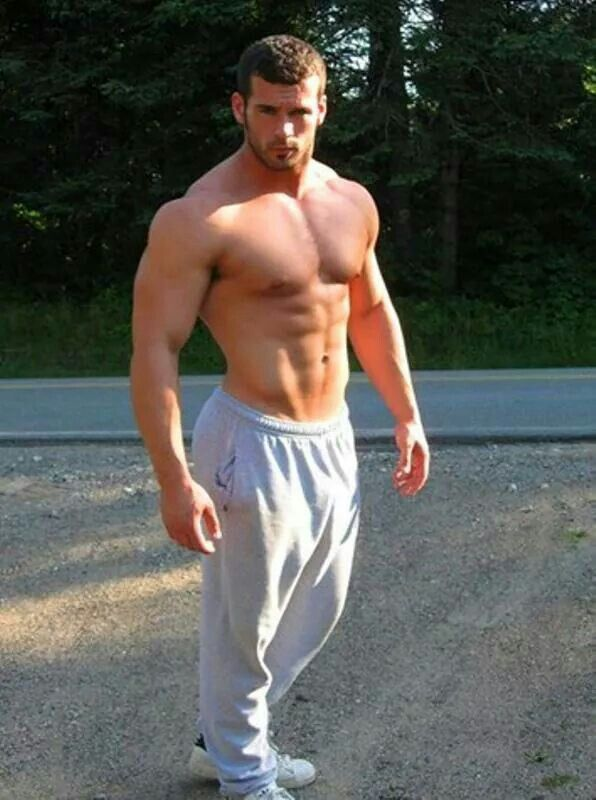 guys in sweatpants
