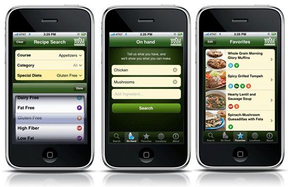 Whole foods graphic design web design pinterest design web iphone app whole foods forumfinder Gallery