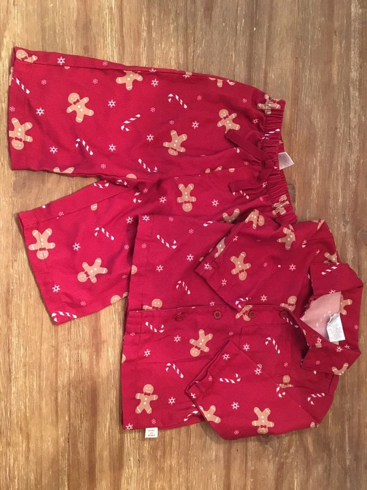 Boys Size 12 Christmas Pajamas Breeze Clothing