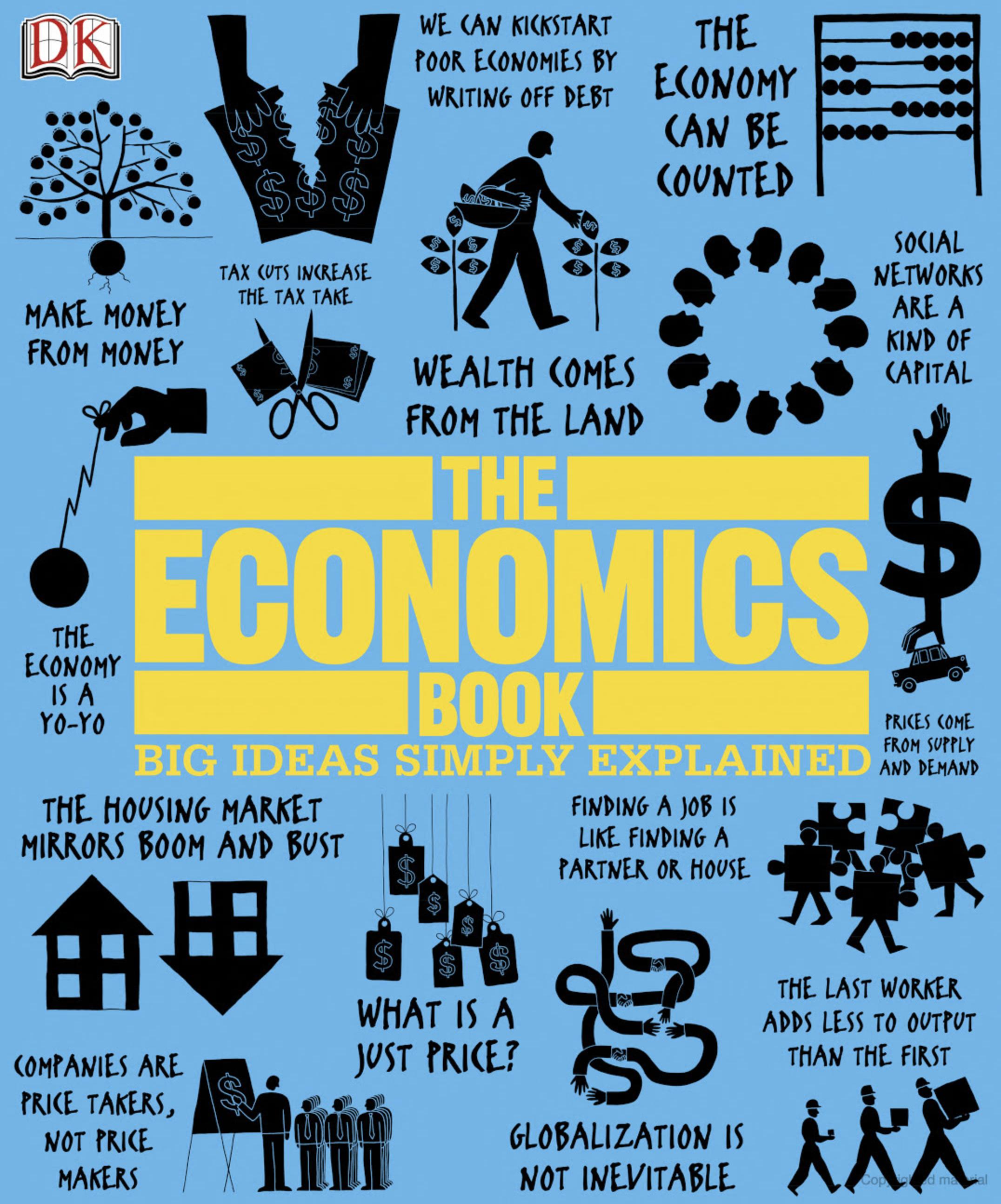 The Economics Book Big Ideas Simply Explained Economics Books Economics Books