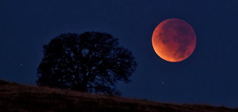 Mañana será el segundo #eclipse lunar del año, y se podrá ver en #México