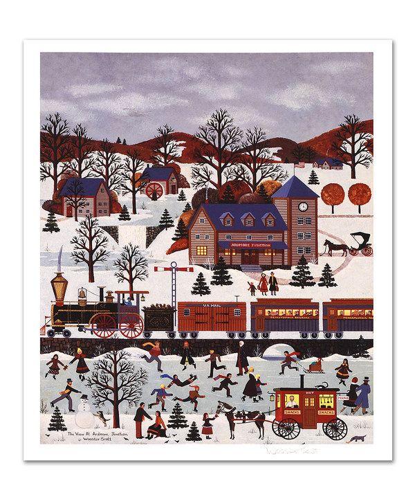 The View at Ardmore Junction Print by Jane Wooster Scott #zulily #zulilyfinds