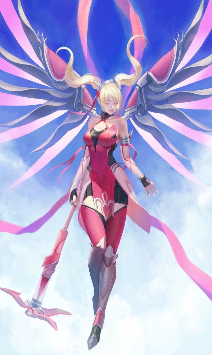 how to get mercy breast cancer sprays on overwatch