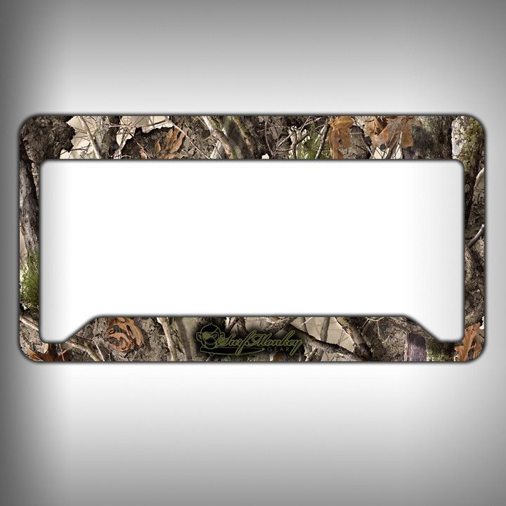 Wooded Camo Custom Licence Plate Frame Holder Personalized Car ...