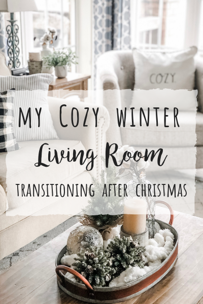 Cozy Winter Living Room Decor! The perfect transition after Christmas!   Wilshire Collections