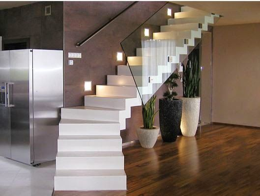 10 Staircase Designs In Hi Tech Style Staircase Design House