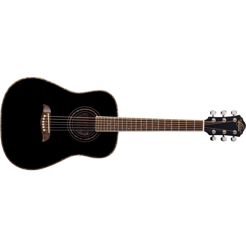 Oscar Schmidt Oghsb 1 2 Acoustic Guitar Black In 2020 Acoustic Guitar Guitar Acoustic