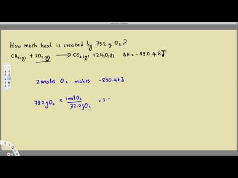 Thermochemical Equations Practice Problems - Example 2