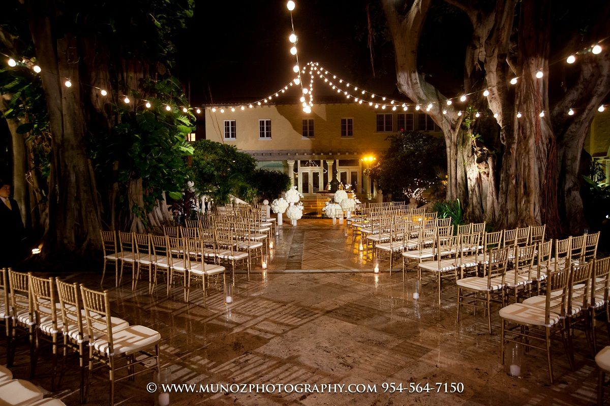 The Addison-Ceremony at night | Wedding Venues | Wedding ...