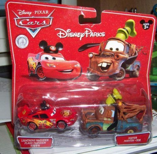 Disney Parks Mickey Lightning Mcqueen Goofy Tow Mater Toy Cars Disney Parks Exclusive Limited Avail Disney Cars Diecast Disney Cars Movie Disney Cars