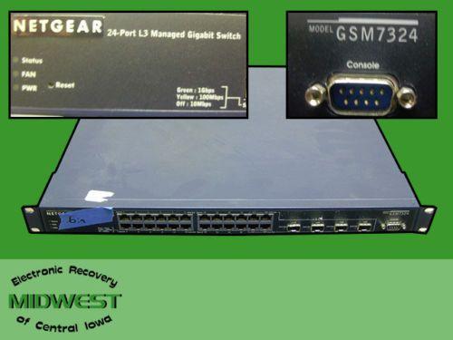 NETGEAR GSM7324 Switch Driver Windows 7