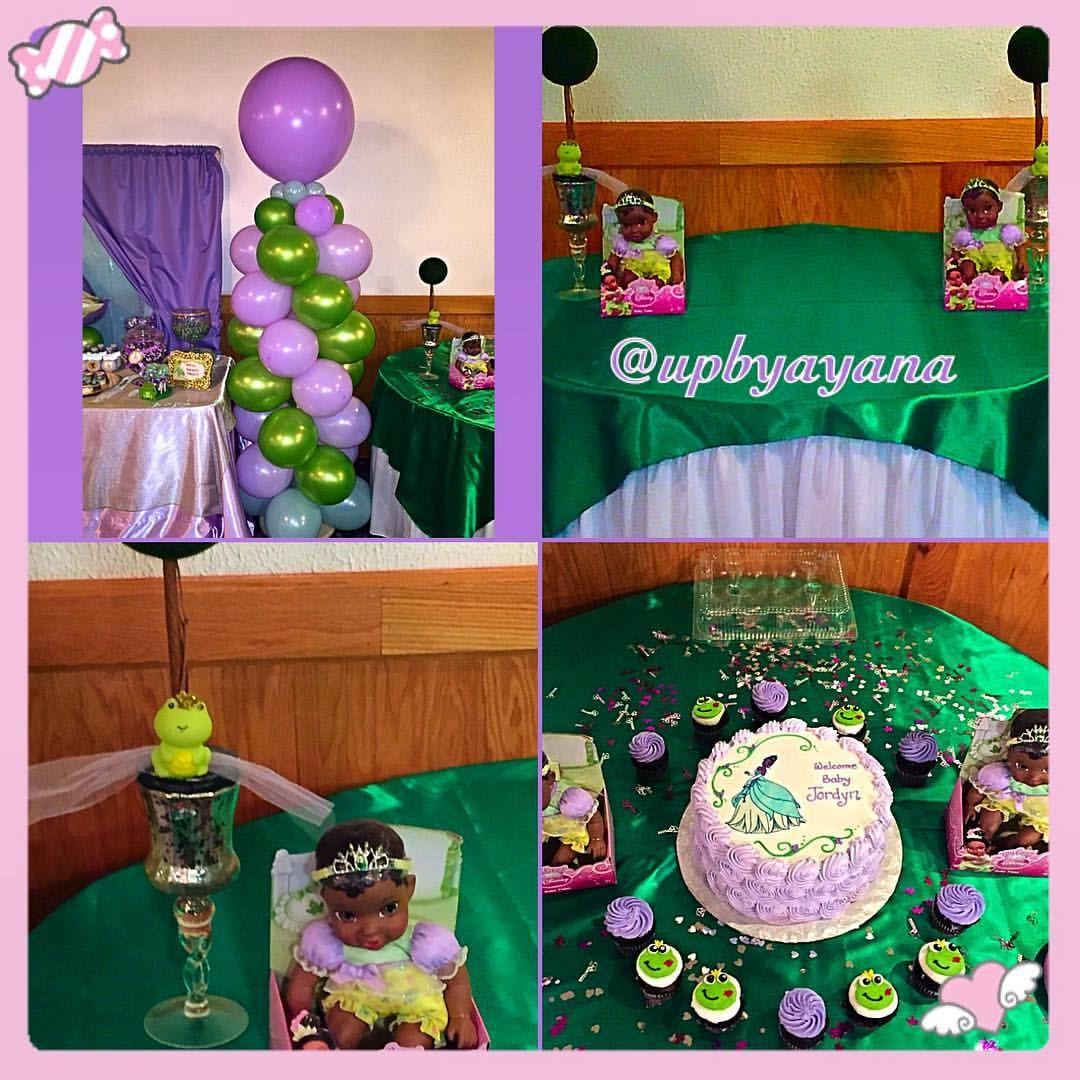 Princess And The Frog Baby Shower Showers Girl Decorations Birthday Party