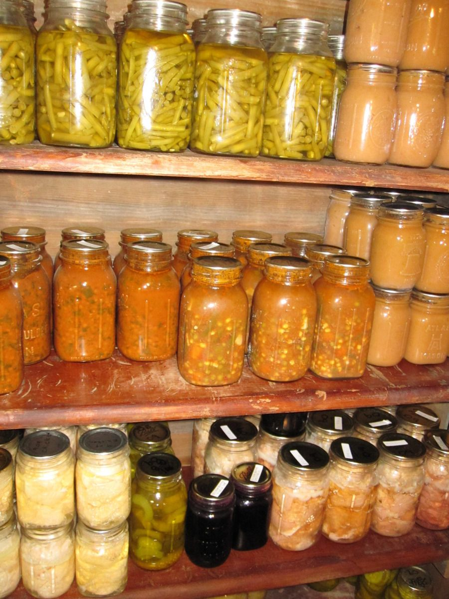 Storing Home Canned Foods Canning Recipes