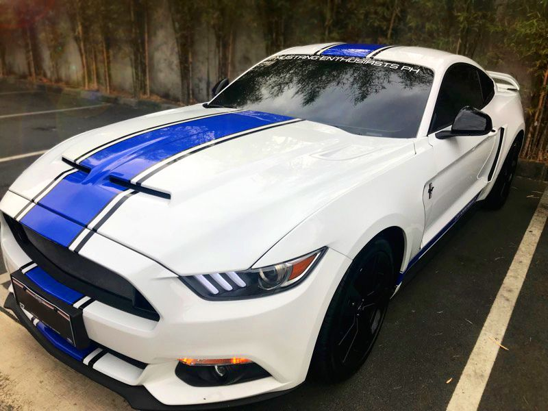 2017 2016 Custom White Ecoboost Mustang Modified Shelby 50th Anniversary