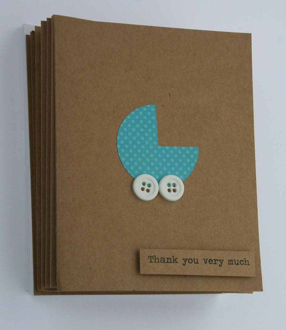Card Making Ideas Baby Shower Part - 32: Baby Shower Thank You Cards Thanks You Cards Set By HappyScrappy1 |  Pinterest Mini-Mall Viral Board | Pinterest | Babies, Cards And Baby Cards