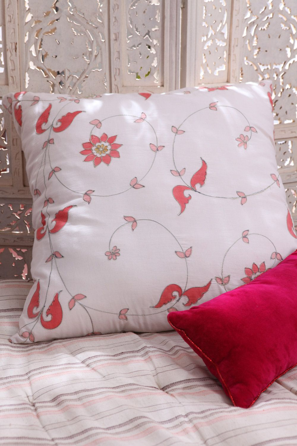 ARABESQUES & GOD'S PILWE CUSHION COVERS Group picture
