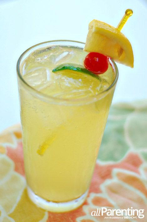 delicious drink recipes including pineapple spritzer sangria