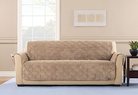 Incroyable Sure Fit Slipcovers Wide Wale Corduroy Pet Cover   Sofa