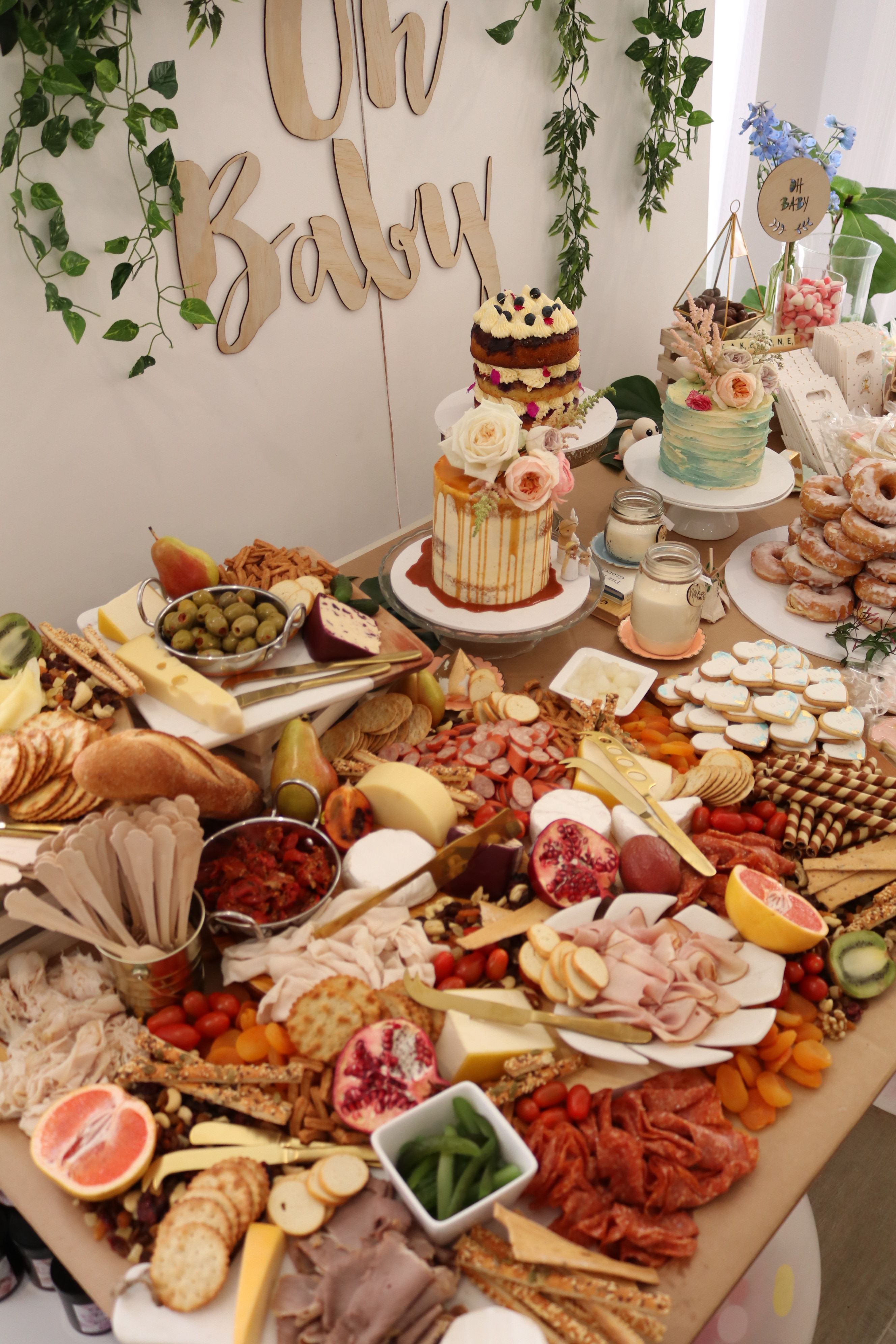 Baby Shower Grazing Table Ideas Baby Shower Food Shower Food