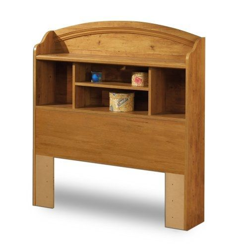 Twin Arched Bookcase Headboard In Country Pine Finish In 2020