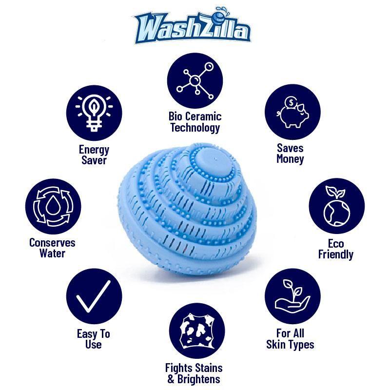 Washzilla Eco Friendly Laundry Ball Laundry Ball Washing Ball