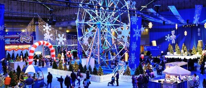 Navy Pier is mainly known for its outdoor appeal, but come December, the party moves inside. A magical winter wonderland comes alive for Winter Wonderfest.